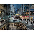At 5:19pm-Toronto Eaton Centre-Toronto,Ontario-On Saturday,Jan.26,2013