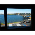 CHILE  ----      PUERTO VARAS 8  ----  VIEW FROM MY ROOM AT THE HOTEL CABA�AS DEL LAGO