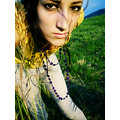portrait woman me summer self