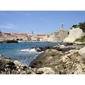 dubrovnik kroatia sea adriatic blue oldtown harbour