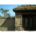 China Beijing landscape countryside architecture entry door orient traditional