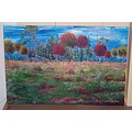 fall autumn color original purchase art panoramic paintings painting outdoor