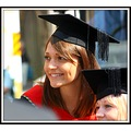 My daughter Emma on her graduation day this week