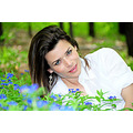 girl woman wife model beaty sexy face eyes smile nature forest Bulgaria