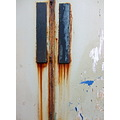 door rust corrosion decay paint