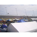orange lot tent city daytona 2009 infield
