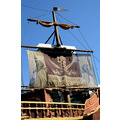 seaworld orlando florida show pirate ship sail mast