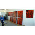 red mom mother paintings studio pictures art artist series atelier