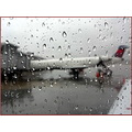 airplane rain stlouis travel