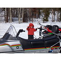 Picture of John Deere Trailfire snowmobile Sam Scott