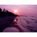 dusk sunset lake ontario beach swimming