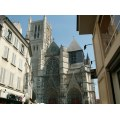 architecture townscapes france meaux churches
