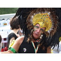 candid brighton pride man headdress