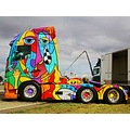 Volvo Picaso Truck Skane Sweden Vallakra 2013 August colourful kent0607