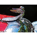 Plymouth 1931 Chrome Hood ornament Carshow Sofiero may 2011 Skane Sweden