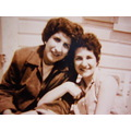 An old Photo of my two aunts-from many years ago-I took a photo shot of it today-my Aunt Helen ga...