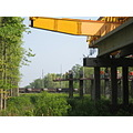 highway construction - train crossing - series