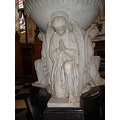 church font statue angel