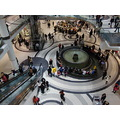 At 5:19pm-2nd Photo-Toronto Eaton Centre-On Saturday,Jan.26,2013