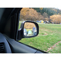 car mirror campsite