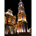 Salta city night