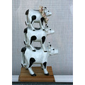 cows tripledecker ornament England