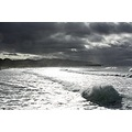 St Clair beach in Dunedin on one of its many moody days.  You would think I took this in black an...