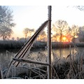 canalclub sailboat grass sunrise frozen fog frozenfog