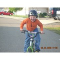kenster riding his bike