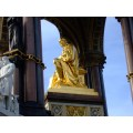 albert memorial kensington london statue