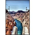 hoover dam nevada arizona usa hdr