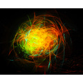 light drawing sand mountain glow sticks