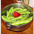 WELL cooking strawberry fava beans culinary