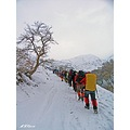 iran karj mountain winter sirab
