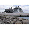 msnoordam cruise ship rocks boulders philipsburg stmaarten