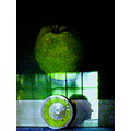 art light shadows green