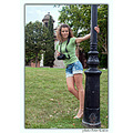 girl woman wife portrait smile fun summer Barcelona park nikon sigma