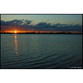 stlouis missouri us usa sunset landscape sky clouds crevecoeur lake bh 2008