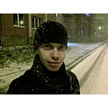 Taken on the phone)) We got snow in October!!!