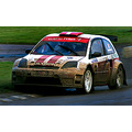 ford feista rally cross racing car track fast driver dale carnegie 4wd