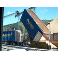 wood chips export Port Chalmers Dunedin Littleollie