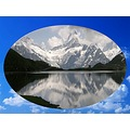Mountain Sky Snow Nature Water Landscape Reflection