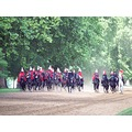 i watched the royal soldiers  being trained at hyde park,had a great weekend in london