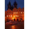 Prague winter Bohemia