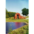 reflectionthursday barn Tennessee water landscape