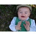 grandbaby at easter...I love this lil guy...