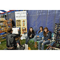 upstate newyork road lafayette apple festival girls caricatures artist