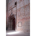 seu vella lleida catalan gothic architecture interior door fresco mural painting
