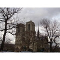 notre dame de paris french gotick cathedral paris france art