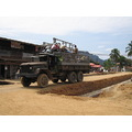 laos asia vehicles vang rubbish vieng